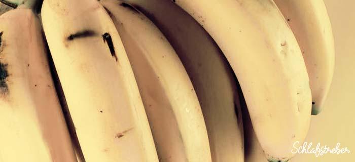 Bananenwasser als Schalfmittel